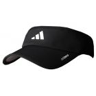 Adidas Men's adiZero Visor (Black/ White) - Tennis Apparel