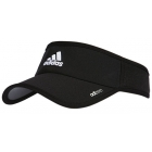 Adidas adiZero II Visor (Base Green/Flash Orange) - Adidas Caps & Visors Tennis Apparel