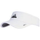 Adidas adiZero II Visor (White/ Black/ Grey) - Adidas Caps & Visors Tennis Apparel