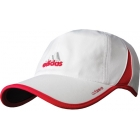 Adidas Women's adiZero Cap (White/ Pink) - Tennis Apparel