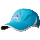 Adidas Women's adiZero Cap (Cyan/ White) - Tennis Apparel