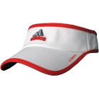 Adidas Women's adiZero Visor (White/ Core Energy) - Tennis Apparel