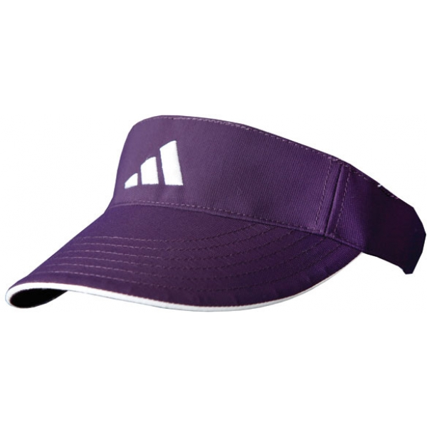 Adidas Women's ClimaLite Visor (Purple/White)