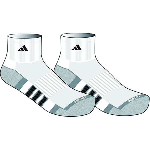 Adidas Men's Climalite II Quarter 2-Pack Sock