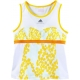 Adidas Stella McCartney Barricade Tank (White/Yellow) - Adidas Women's Apparel Tennis Apparel