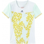 Adidas Stella McCartney Barricade Print Cap-S (White/Yellow) - Adidas Women's Apparel Tennis Apparel
