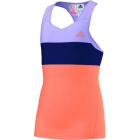 Adidas Response Tank (Purple/Orange) - Adidas Women's Apparel Tennis Apparel