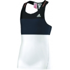 Adidas Response Tank (Black/Grey/White) - Adidas Women's Apparel Tennis Apparel