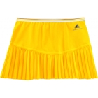 Adidas Stella McCartney Barricade Skort (Yellow) - Adidas Women's Apparel Tennis Apparel