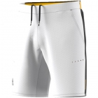 Adidas Men's Barricade Woven Tennis Shorts (White/Black) - Tennis Apparel Brands