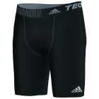 Adidas Men's Techfit Base Short Tight (Black) - Adidas Men's Apparel Tennis Apparel