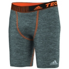 Adidas Men's Techfit Base Short Tight (Grey) - Men's Shorts Tennis Apparel