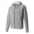 Adidas Men's Club Sweat Hoodie (Grey Heather) - Men's Jackets