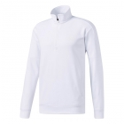 Adidas Men's Team Issue Fleece Quarter-Zip Tennis Jacket (White) - Men's Jackets