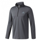 Adidas Men's Essentials Tech Quarter-Zip Tennis Training Top (Dark Grey) - Men's Jackets