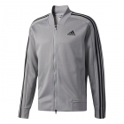 Adidas Men's Sport ID Track/Tennis Bomber Jacket (Grey) - Men's Jackets