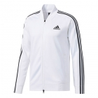 Adidas Men's Sport ID Track/Tennis Bomber Jacket (White) - Men's Jackets
