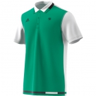 Adidas Men's Roland Garros Tennis Polo (Core Green/White/Night Grey) - Men's Polo Shirts