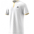 Adidas Men's U.S. Open Series Tennis Polo (White) - Adidas Tennis Apparel