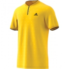 Adidas Men's U.S. Open Series Tennis Polo (Yellow) - Adidas Tennis Apparel