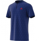 Adidas Men's U.S. Open Series Tennis Polo (Mystery Ink) - Adidas Tennis Apparel