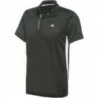 Adidas Men's Sequentials Galaxy Polo (Black) - Men's Tops Polo Shirts Tennis Apparel