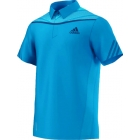 Adidas Men's Adipower Polo (Solar Blue/Night Blue) - Men's Tops Polo Shirts Tennis Apparel