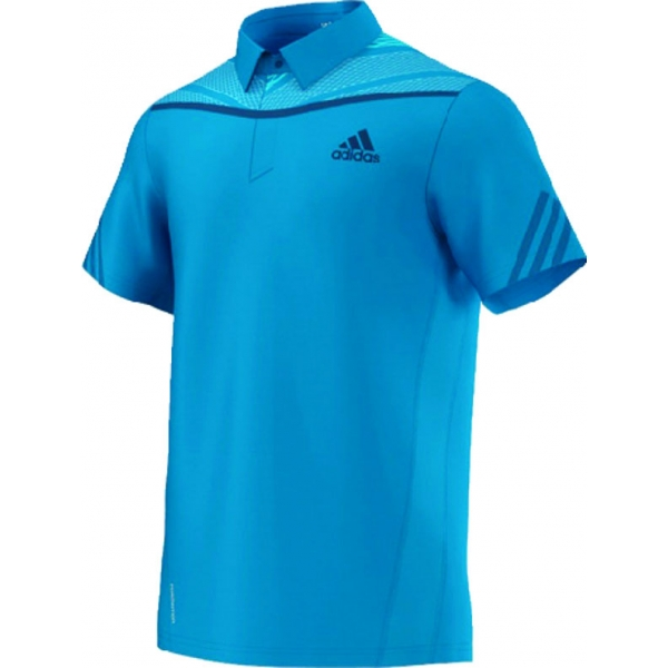 Adidas Men's Adipower Polo (Solar Blue/Night Blue)