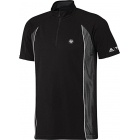Adidas Men's RG Y-3 On-Court Half Zip Tee (Black) - Men's Tops Tennis Apparel