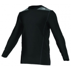 Adidas TechFit Fitted L/S Top (Black) - Tennis Apparel