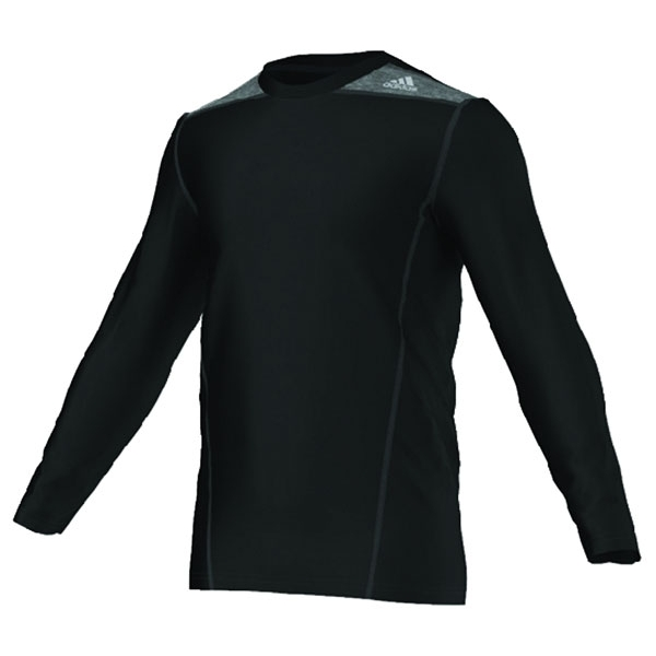 Adidas TechFit Fitted L/S Top (Black)