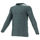 Adidas TechFit Fitted L/S Top (Grey) - Tennis Apparel