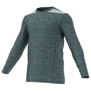 Adidas TechFit Fitted L/S Top (Grey)