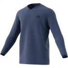 Adidas Men's UV Protect Long Sleeve Tennis Tee (Noble Indigo) - Men's Long-Sleeve Shirts