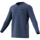 Adidas Men's UV Protect Long Sleeve Tennis Tee (Noble Indigo) - Tennis Apparel