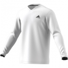 Adidas Men's UV Protect Long Sleeve Tennis Tee (White) - Men's Long-Sleeve Shirts