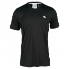 Adidas Men's Sequentials Galaxy Crew Tee (Black) - Tennis Apparel