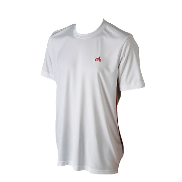 Adidas Men's Sequentials Galaxy Crew Tee (White/Red)