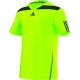 Adidas Men's Adipower Barricade Crew Tee (Green/Solar Blue) - Men's Tops T-Shirts & Crew Necks Tennis Apparel