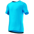 Adidas Men's ClimaChill Tee (Solar Blue) - Tennis Apparel Brands