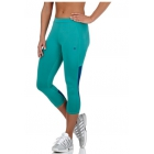 K-Swiss Women's Capri Tennis Pants (Lagoon/Ultramarine) - Women's Tennis Apparel