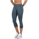 K-Swiss Women's Capri Tennis Pants (Stormy Weather) - Women's Outerwear