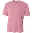 A4 Men's Performance Crew Shirt (Pink) - Men's Tennis Apparel