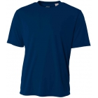 A4 Men's Performance Crew Shirt (Navy) - Men's Tennis Apparel