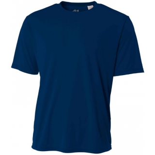 A4 Men's Performance Crew Shirt (Navy)