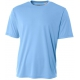 A4 Men's Performance Crew Shirt (Light Blue) - A4 Men's T-Shirts & Crew Necks