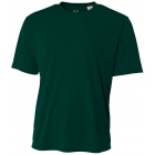 A4 Men's Performance Crew Shirt (Forest) - Tennis Apparel Brands