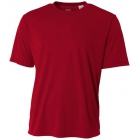 A4 Men's Performance Crew Shirt (Cardinal) - Tennis Apparel Brands
