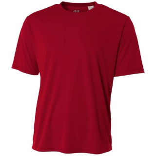 A4 Men's Performance Crew Shirt (Cardinal)