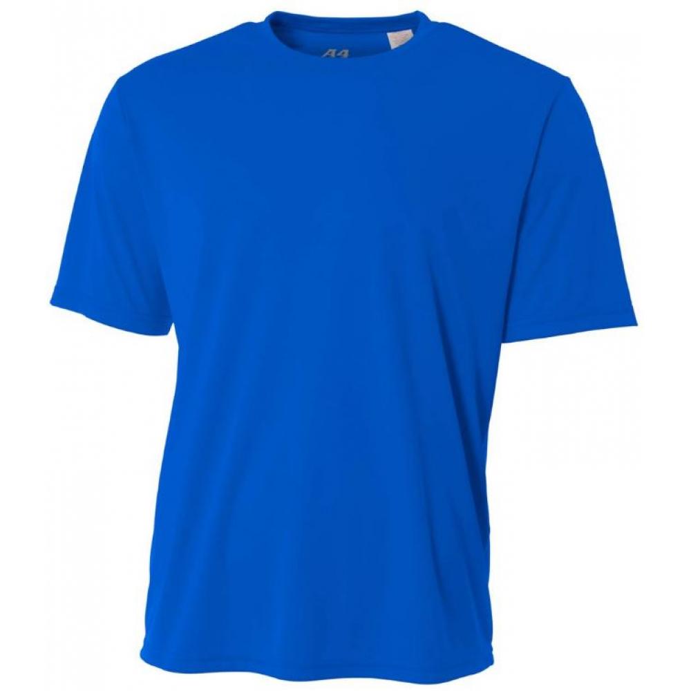 A4 Men's Performance Crew Shirt (Royal)